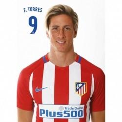 Postal Atletico Madrid 2016/2017 F. Torres