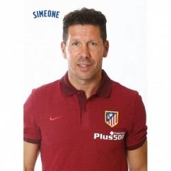 Postal Atletico Madrid 2016/2017 Simeone