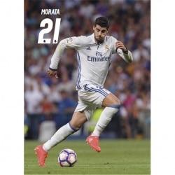 Postal Real Madrid 2016/2017 Morata Accion
