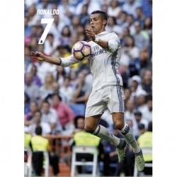Postal Real Madrid 2016/2017 Ronaldo Accion