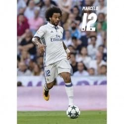 Postal Real Madrid 2016/2017 Marcelo Accion