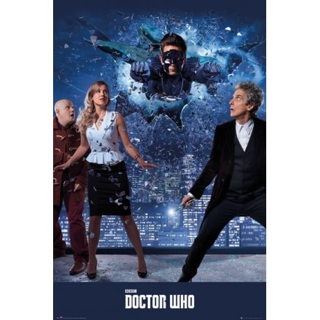 Maxi Poster Doctor Who Xmas Iconic 2016