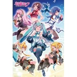 Maxi Poster Hatsune Miku grupo