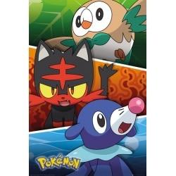 Maxi Poster Pokemon Alola Partners