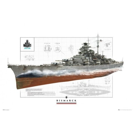 Maxi Poster World of Warships Bismark