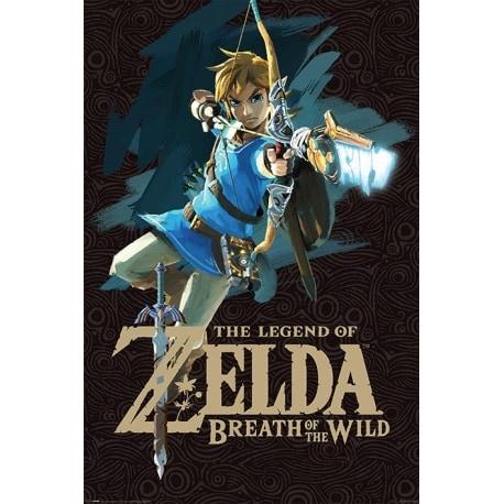 Maxi Poster Zelda Breath of the Wild