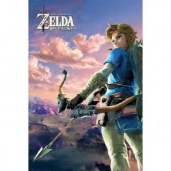 Maxi Poster Zelda Breath of the Wild Hyrule