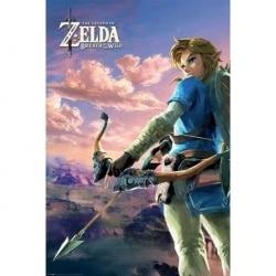 Maxi Poster Gamer Zelda Breath of the Wild Hyrule