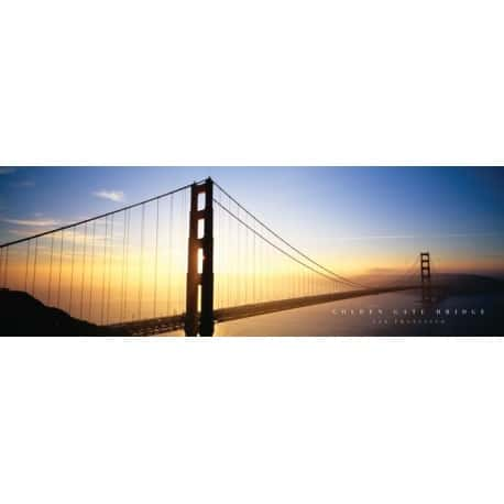 Slim Poster Golden Gate Bridge
