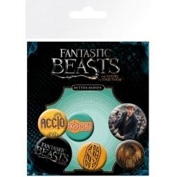 Pack de Chapas Fantastic Beasts Mix