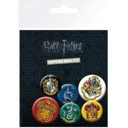 Pack de Chapas Harry Potter Crests