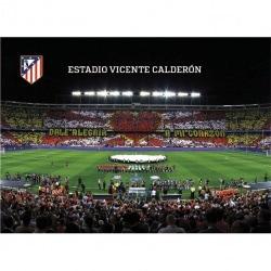 Postal Atletico Madrid 2016/2017 Estadio