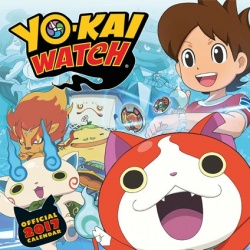 Calendario 2017 Yo-kai Watch