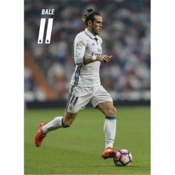 Postal Real Madrid 2016/2017 Bale Accion