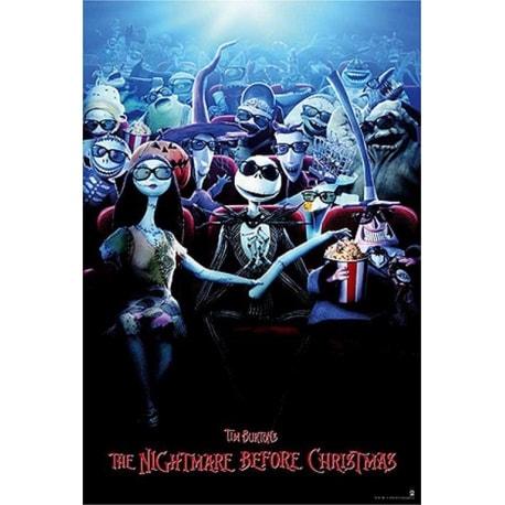 Poster Pesadilla Antes De Navidad