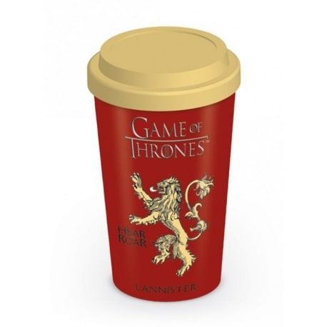 Taza de viaje Juego de Tronos Lannister