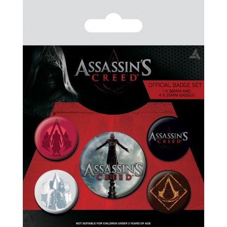 Pack de Chapas Assassins Creed