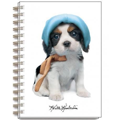 Cuaderno A5 Keith Kimberlin Perros Gorritos