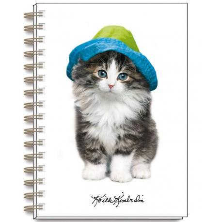 Cuaderno A5 Keith Kimberlin Gatos Gorritos