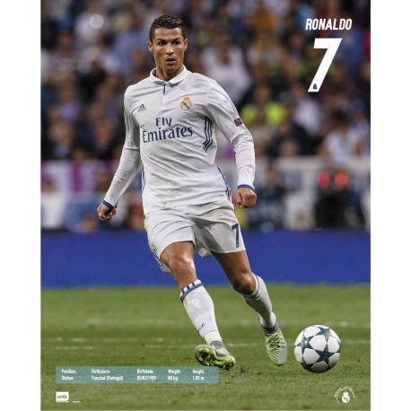 Mini Poster Real Madrid 2016/2017 Ronaldo Acción