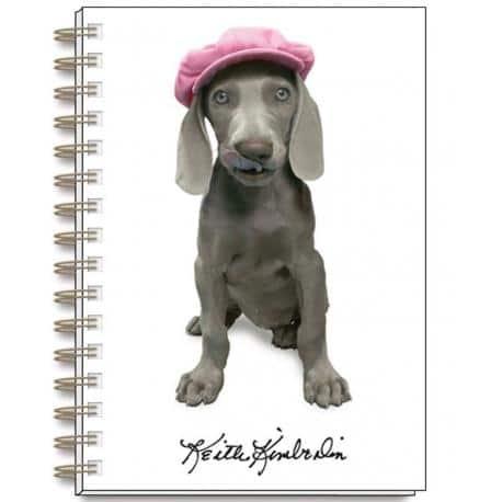 Cuaderno A6 Keith Kimberlin Perros Gorritos