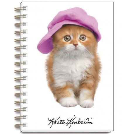Cuaderno A6 Keith Kimberlin Gatos Gorritos