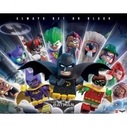 Mini Poster Lego Batman (Apuesta siempre al negro)
