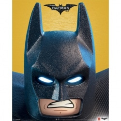 Mini Poster Lego Batman (Close Up)
