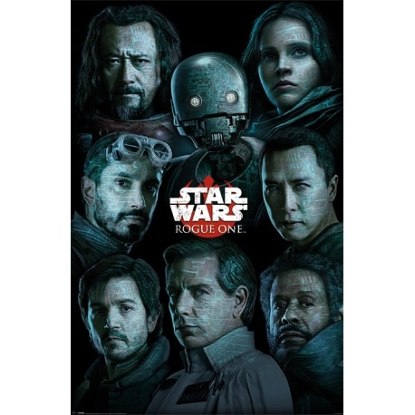 Maxi Poster Star Wars Rogue One (Personajes)