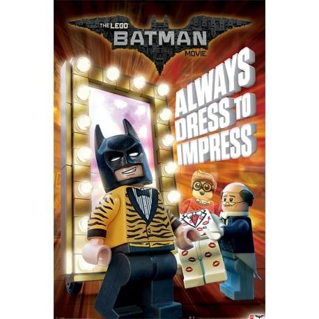 Maxi Poster Lego Batman (Vestido para impresionar)
