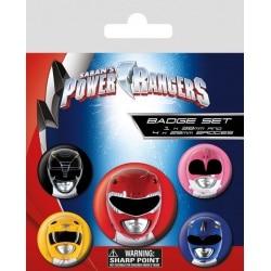 Pack de Chapas Power Rangers Personajes