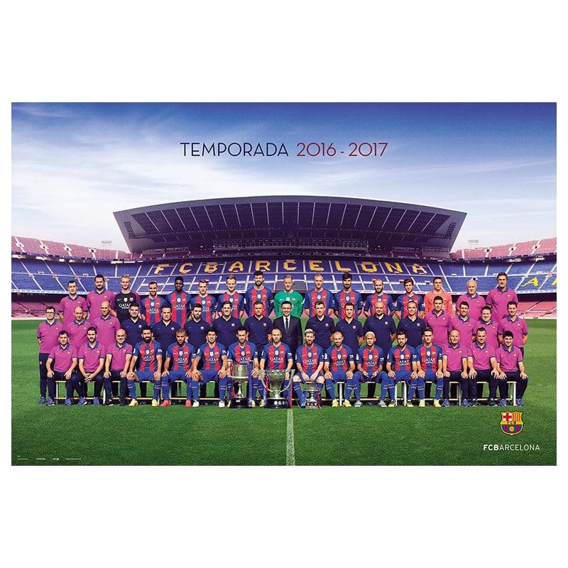 Hilo del FC Barcelona Poster-fc-barcelona-20162017-plantilla