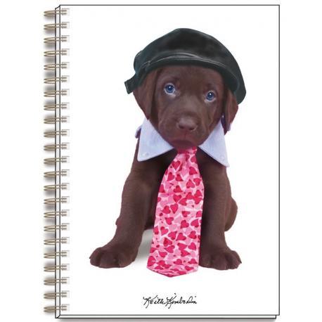 Cuaderno A4 Keith Kimberlin Perro Gorrito
