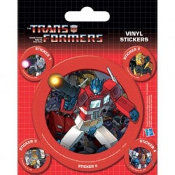 Pegatina Transformers G1 (Optimus Prime)