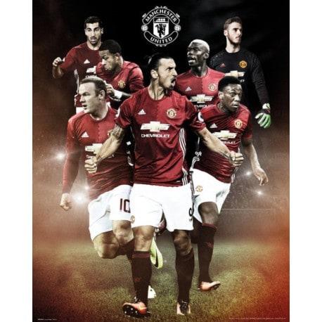 Mini Poster Manchester United 2016/2017 Jugadores