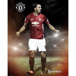 Mini Poster Manchester United Ibrahimovic 2016/2017