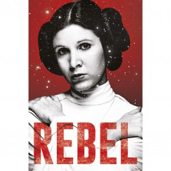 Poster Star Wars Princesa Leia Rebel