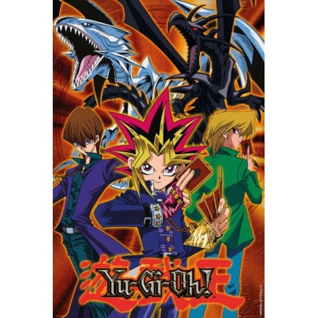 Poster Yu Gi Oh! Grupo