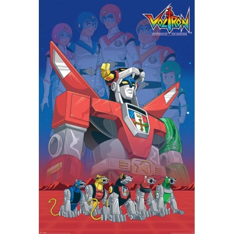 Poster Voltron Legacy