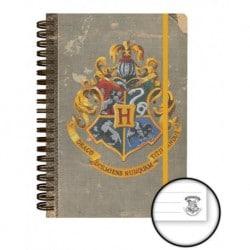 Cuaderno Tapa Dura A5 Harry Potter Hogwarts