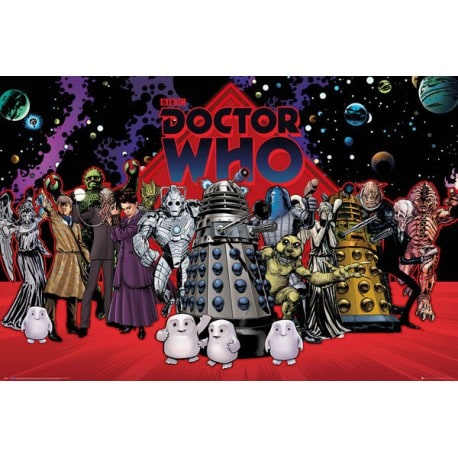 Poster Doctor Who Compilacion