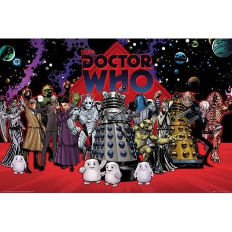 Poster Doctor Who Compilacion