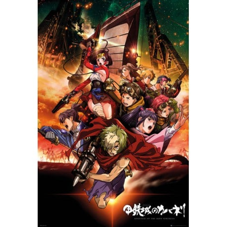 Poster Kabaneri Of The Iron Fortress