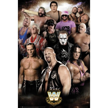 Poster WWE Leyendas