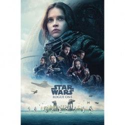 Poster Star Wars Rogue One (Portada)