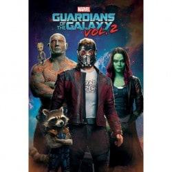Poster Guardianes de la Galaxia Vol. 2 (Personajes)