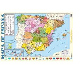Lámina Educativa Mapa De España