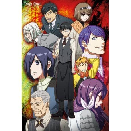 Poster Tokyo Ghoul Grupo