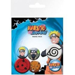 Pack de Chapas Naruto Shippuden