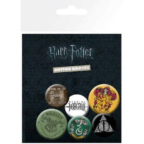 Pack de Chapas Harry Potter Mix